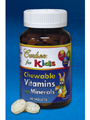 Chewable Vits & Mins for Kids 180 tabs (CA2423) Carlson Labs