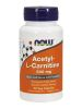 Acetyl-L Carnitine 500 mg 50 vcaps (N0075) NOW