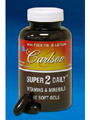 Super 2 Daily 60 softgels (SUP50) Carlson Labs