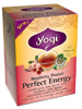 Perfect Energy Raspberry Passion 16 bags (Y20352) Yogi Teas