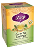 Green Tea Energy Organic 16 bags (Y45027) Yogi Teas