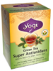 Green Tea Super Antioxidant 16 bags (Y45036) Yogi Teas