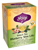 Green Tea Blueberry Slim Life 16 bags (Y45057) Yogi Teas